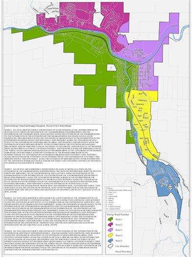 Ward Map
