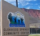 Glenwood Springs Community Center Sign