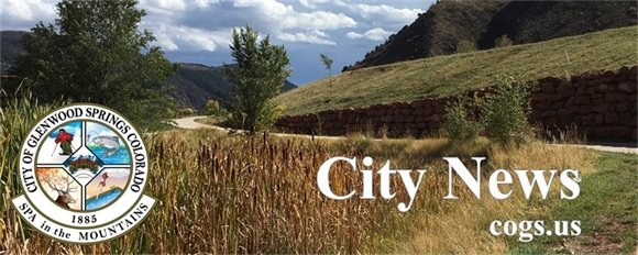 Glenwood Springs City News Banner (West Midland Trail)