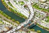 Grand Avenue Bridge Concept Drawing