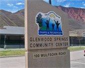 Sign for the Glenwood Springs Community Center