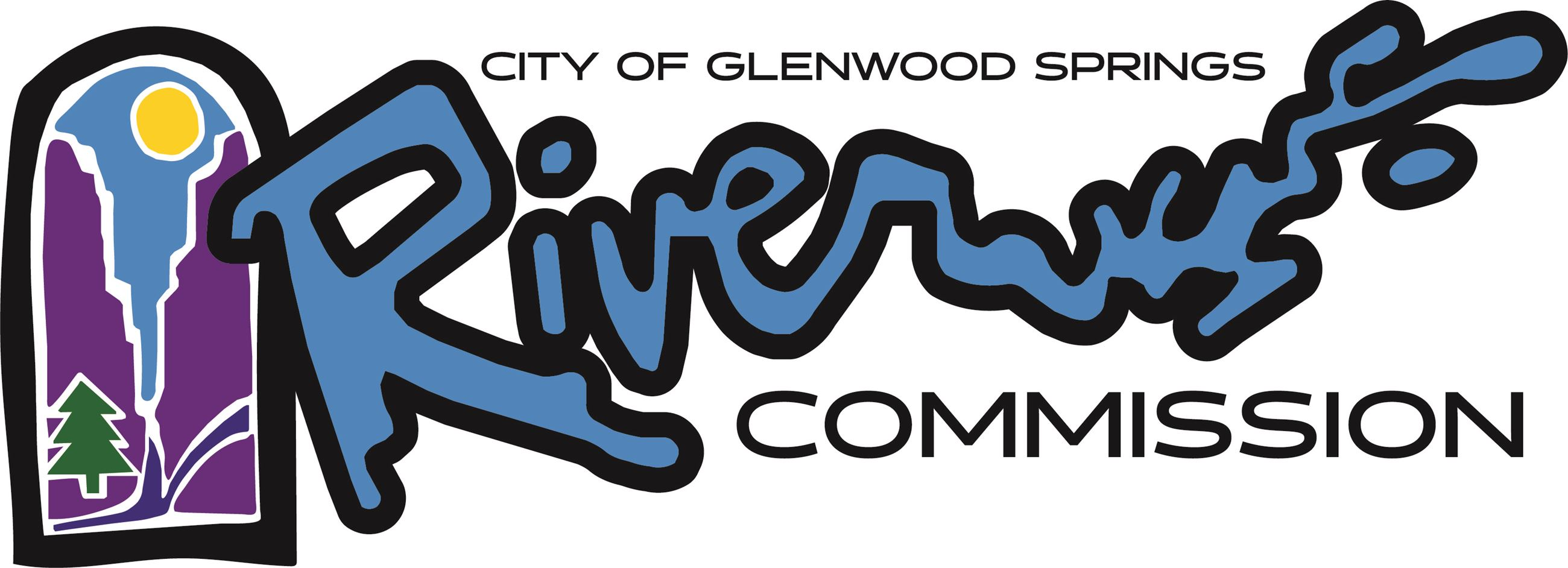 City of Glenwood Spring River Commission logo final horizontal May 2018