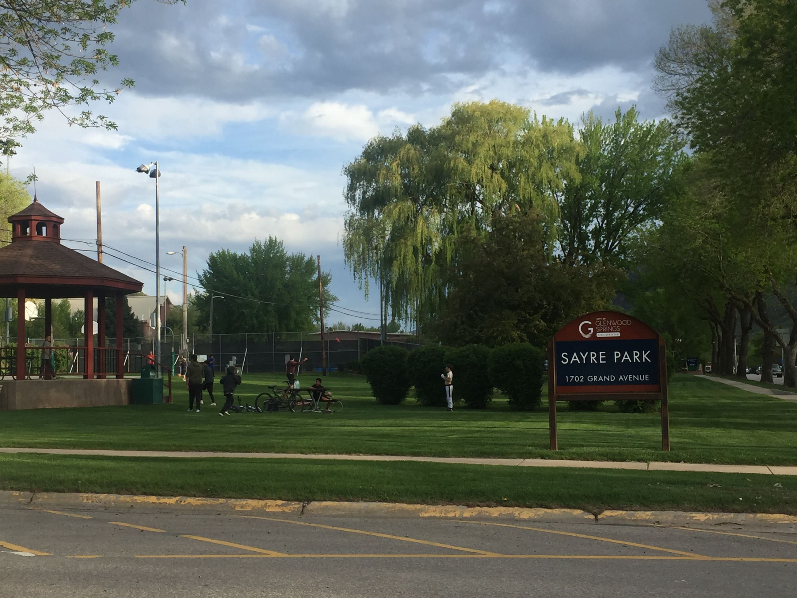 Sayre Park Sign