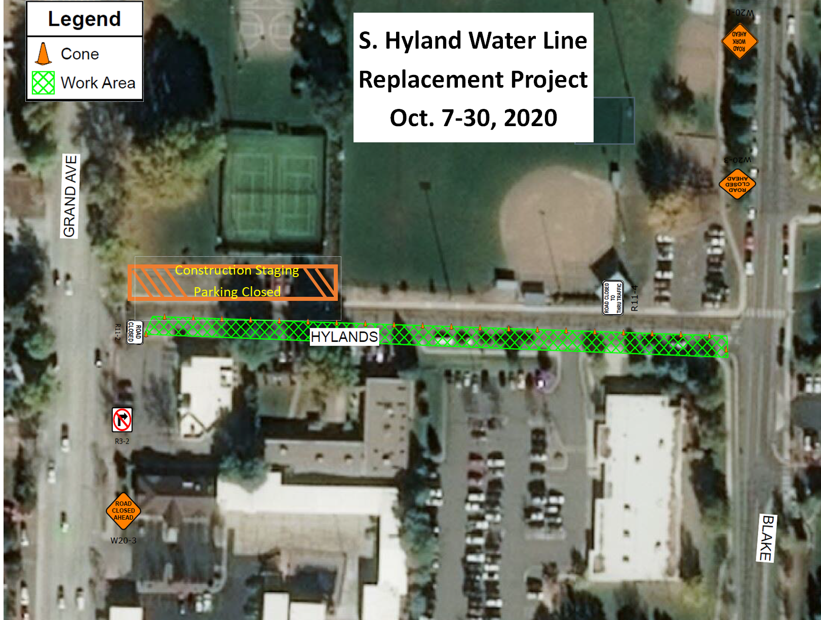 hyland waterline project image