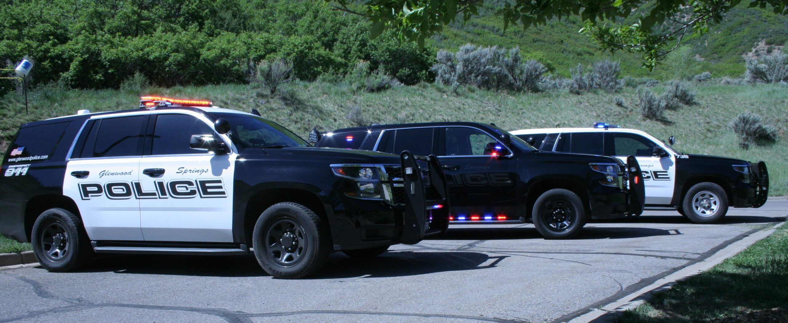 Glenwood Springs Police Vehicles